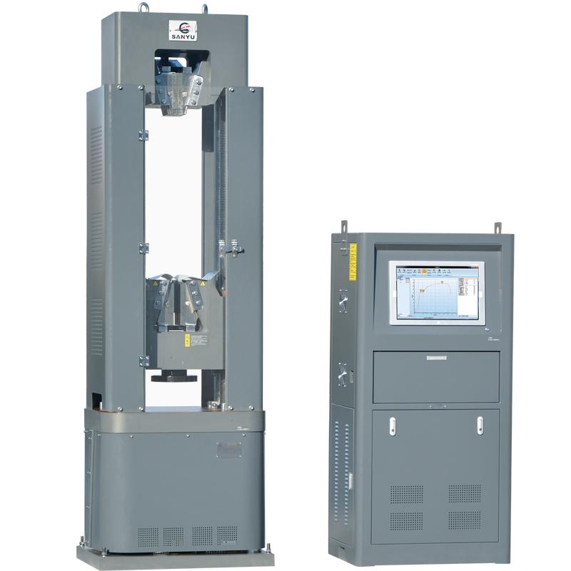 GAW-1000B微机电液伺服钢绞线专用机