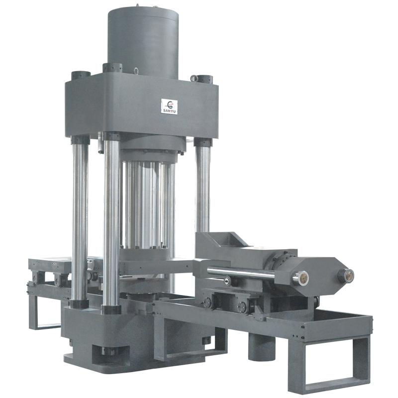 YJW-10000微机控制电液伺服压剪试验机